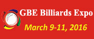 GBE Billiards Expo 2016